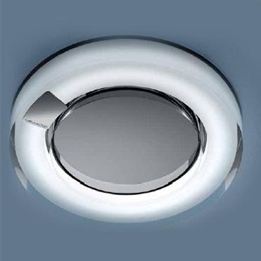 0504175083032 Leucos Studio светильник настенно-потолочный Bluma, прозрачно-сатинированный, D 34