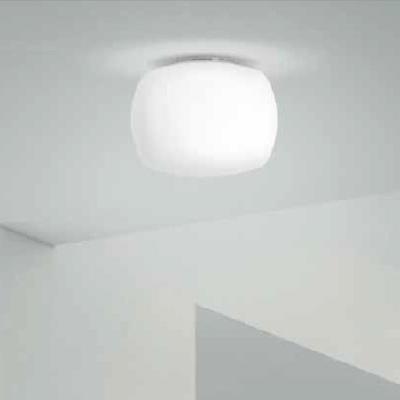 Светильник потолочный KUBE PL AL E27 BIANCO SATINATO