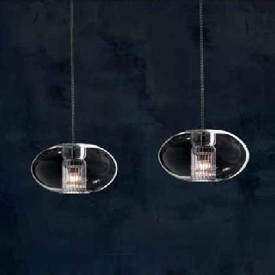 Светильник потолочный 0703266013415 Leucos Modo FAIRY S C R5 GU4 V.CRISTALLO/STR.CROMO