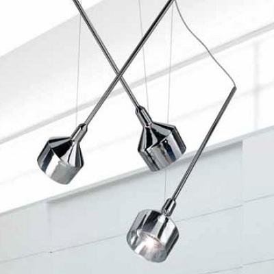 Светильник потолочный 0703370013349 Leucos Studio BEAMER 11 S3 LED CROMO/ARGENTO