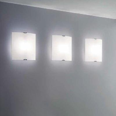 0704196013002 Leucos Idea светильник настенно-потолочный Selis PP45 T, белый матовый плафон, 45х