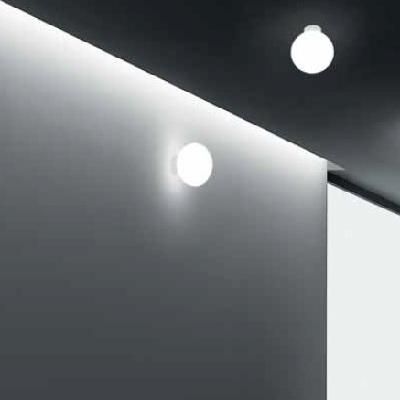 0704215003601 Leucos Idea светильник настенно-потолочный Shera PP20 белый матовый плафон, D20см,
