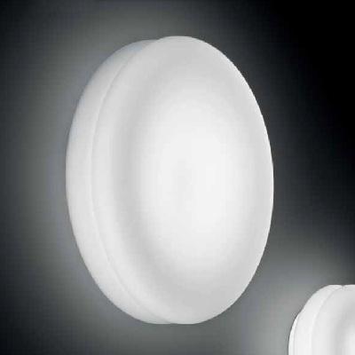 Светильник настенный WIMPY 32 PP LED ALLUMINIO/BIANCO SATINATO