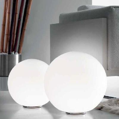 Светильник напольный SPHERA T3/45 E27 CROMO/BIANCO