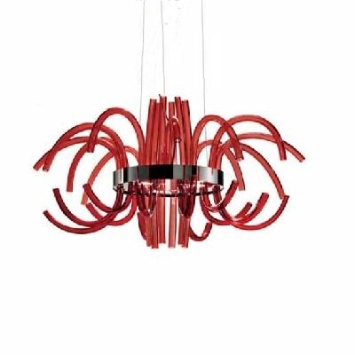 Светильник потолочный 0709380014349 Leucos Modo FILUX L LED CROMO ROSSO