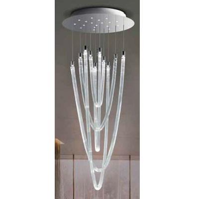 Светильник потолочный 0709381013749 Leucos Modo ACQUALUCEL5 LED CROMO/SETA