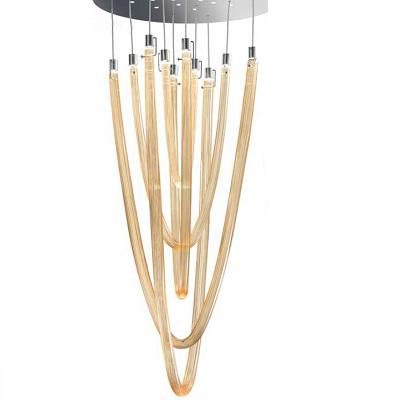 Светильник потолочный 0709381013949 Leucos Modo ACQUALUCEL5 LED CROMO/AMBRA