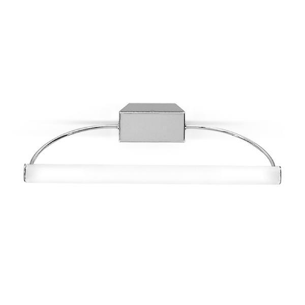 "3697 LineaLight ""Bathroom&MuchMore"" бра, белое сат стекло,40х17см, хром, 2хG9 40W 230V"