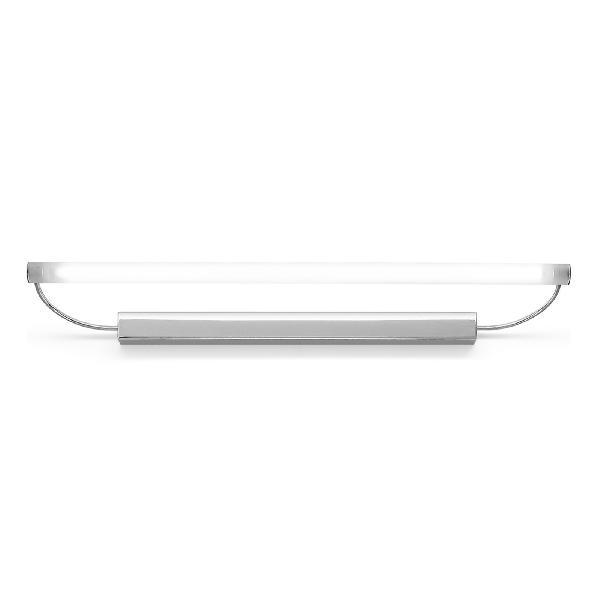 "3699 LineaLight ""Bathroom&MuchMore"" бра, белое сат стекло, 92х5см, хром, 1хG5 39W/830 220/240V"
