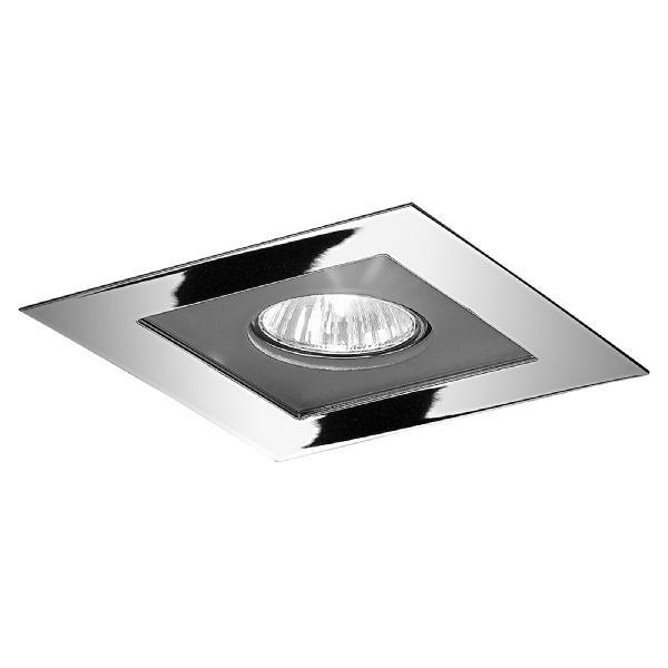 "4721 LineaLight ""Moderncollection"" светильник встроенный, белое стекло, 9х9 см, 1хGY6,35 50W, хр"