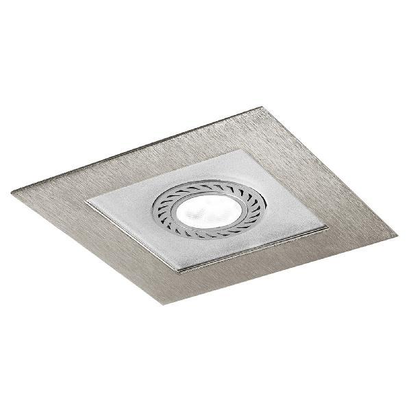 """4723 LineaLight """"Moderncollection"""" светильник встроенный, белое стекло, 9х9 см, 1хGY6,"""
