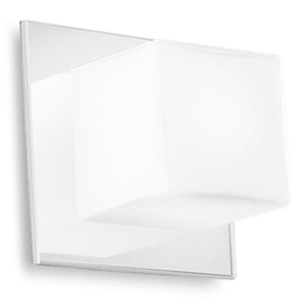 "6413 LineaLight ""Bathroom&MuchMore"" бра, 13х13см, белый/белый, 1xG9 40W 230V"