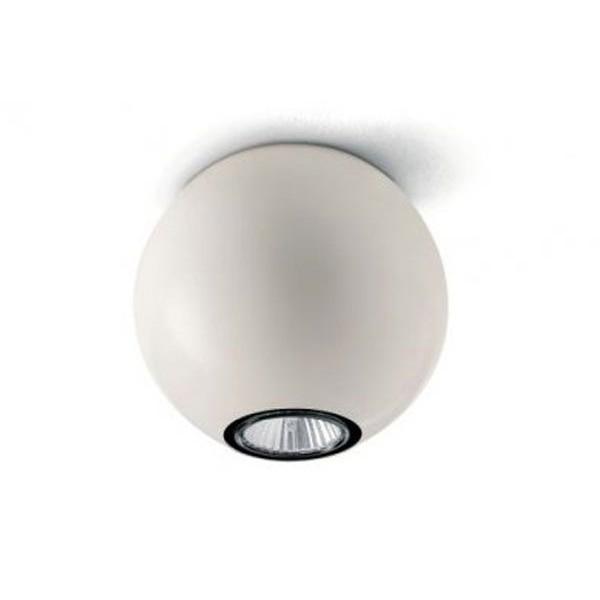 "6617 LineaLight светильник потолочный ""Pelota"", плафон металлический с белым декором, 14Х14Х12,7"