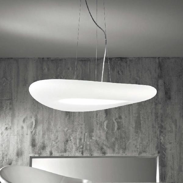 6858 Linea Light MA&DE светильник подвесой Mr Magoo, полиэтилен, 115*20см, 4x2GX11 36W, металл