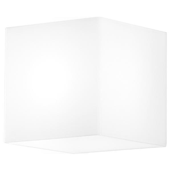 6906 Linea Light бра Die, стекло pirex белое,109х109х120мм, 1х28W G9, поликарбонат