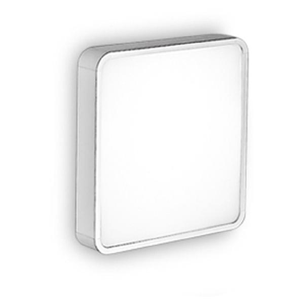 6948 Linea Light светильник потолочный Al-book, стекло белого цвета, 26,6x26,6см 1х2G10 24W 220/