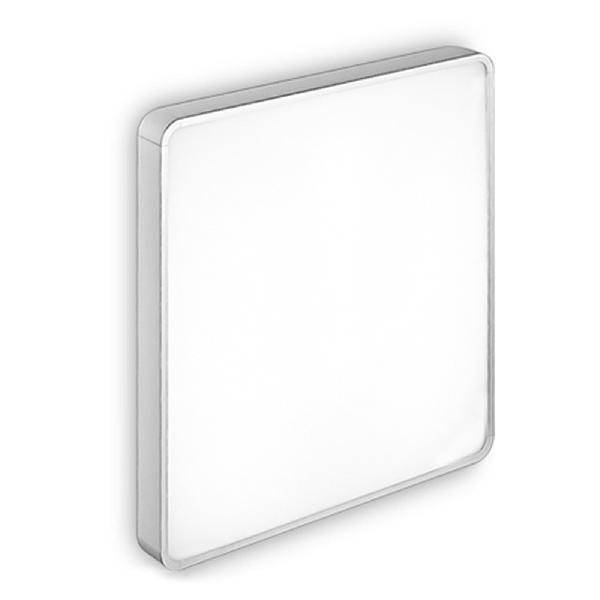 6949 Linea Light светильник потолочный AL-BOOK, стекло белое, 44,4X44,4X8см, 3X24W 220/240V 2G11