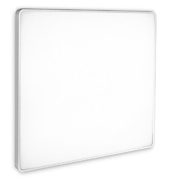 6950 Linea Light светильник настенно-потолочный Albook, стекло белое, 68X68X9см, 4X55W 220/240V