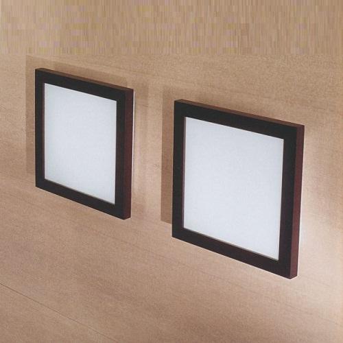 """71631 LineaLight """"Moderncollection"""" светильник настенный, пескостр стекло, 27,5х27,5 см, 1хR7s 1"""