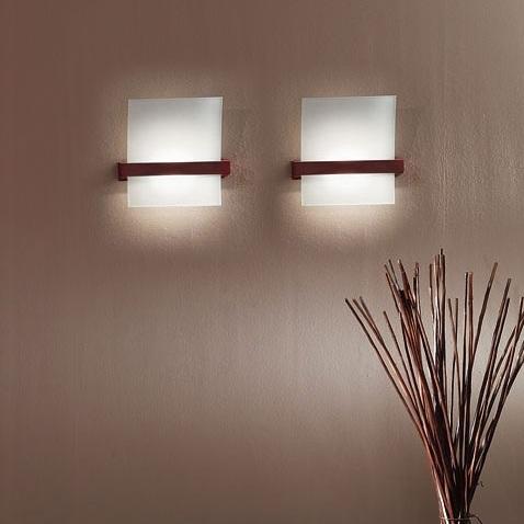 "90117 LineaLight ""Moderncollection"" бра, белое пескостр стекло, 23х25см, 1хR7s 78mm 10"