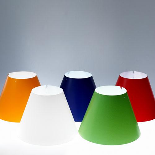 Светильник настольный Luce Plan D13pi. table COSTANZINA WHITE shades
