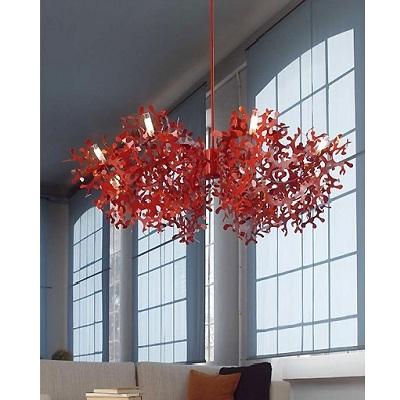 Светильник потолочныйCORAL CEILING LAMP RED (CORP120)