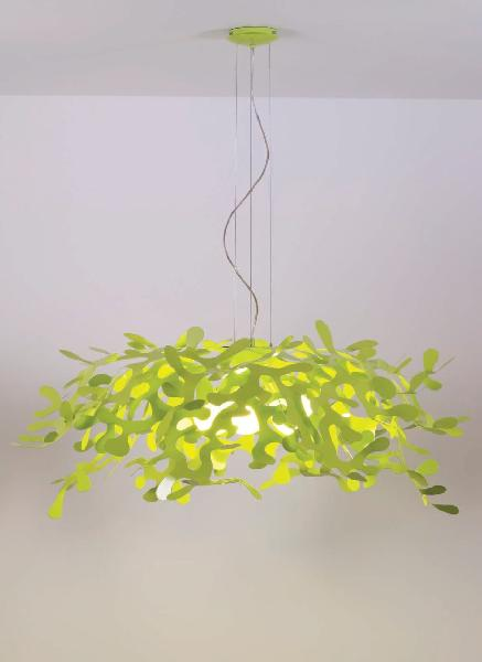 Светильник потолочный Lumen Center Italia Superleaves verde (LEA119GM)