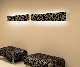 Luxit Светильник настенный Tattoo wall 54W white (F652310012)