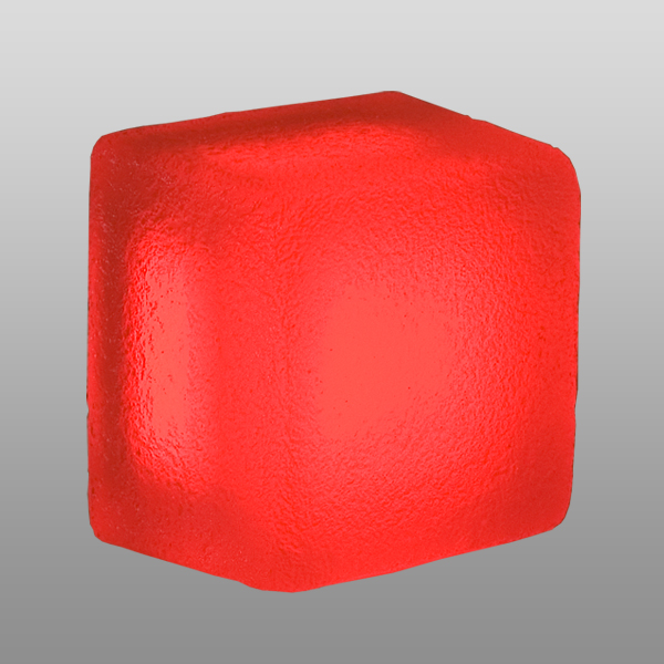 Светильник LX114214 Magnum red, frosted,12V,0.84W, 95x95x70