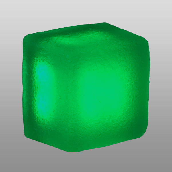 Светильник LX114215 Magnum green, frosted,12V,0.84W, 95x95x70