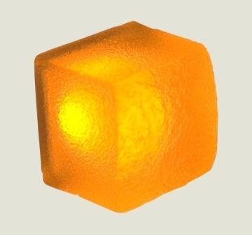 Светильник LX115117 Natur melon, clear, 12V,0.48W, 50x50x45
