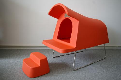 Magis Dog House orange 1086C (FT40)