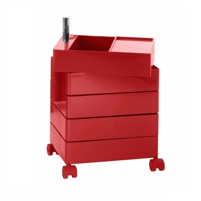 360 container 5 drawers red 1120C (AC250)