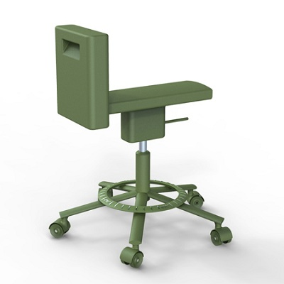 360_stool olive green 1551C (SD1544)