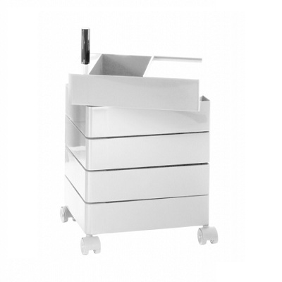 360 container 5 drawers white 1673C (AC250)