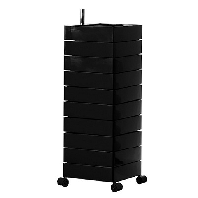 360 container 10 drawers black 1764C (AC270)