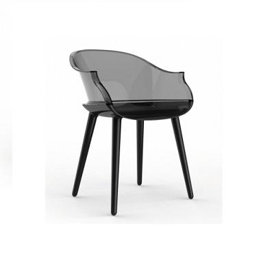 Cyborg chair glossy black 1763 C /smoke grey 2507 (SD1700)