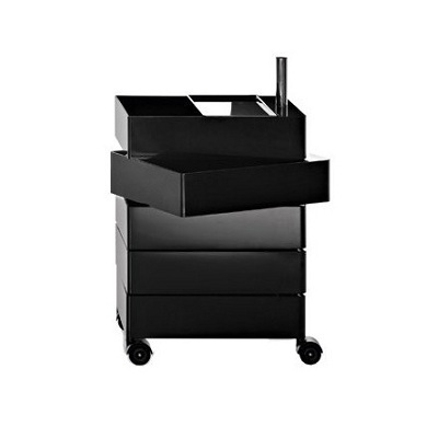 360 container 5 drawers black (AC250)