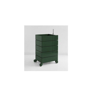 360 container 5 drawers green (AC250 G)