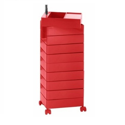 360 container 10 drawers red (AC270)/red 1120 C