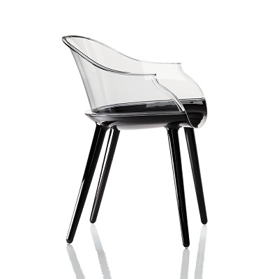 Cyborg chair black/back clear (SD 1700)