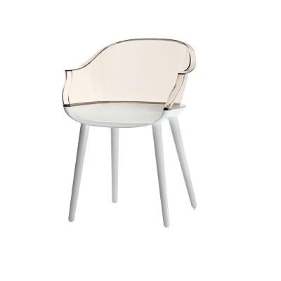 Cyborg chair white/back clear (SD 1700)