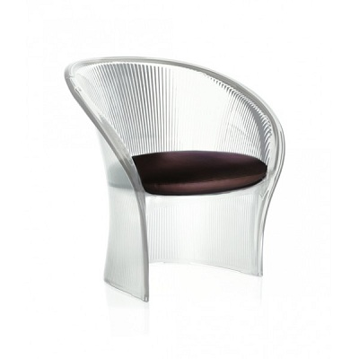 Flower chair clear/brown (SD1530 T.N/M)