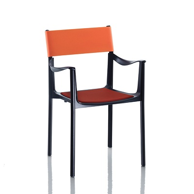 Venice chair black/orange (SD 1770)