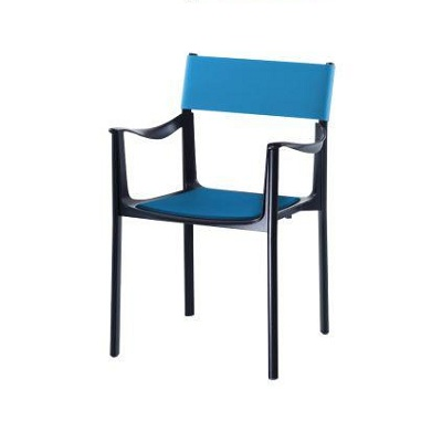Venice chair black/sky blue (SD 1770 N/AZ)