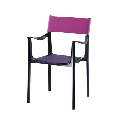Venice chair black/fuchsia (SD 1770)