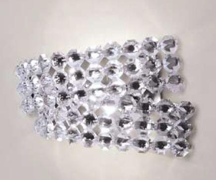 Светильник настенный Marchetti Diamante AP2 cristallo