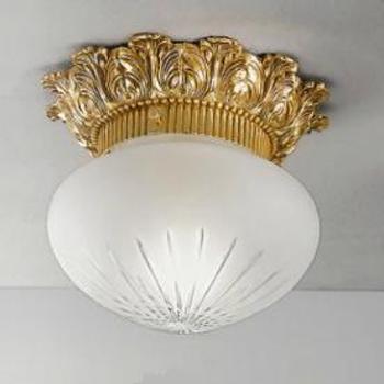 Светильник потолочный Nervilamp 0580 french gold