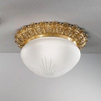 Светильник потолочный Nervilamp 0590 gold bronze