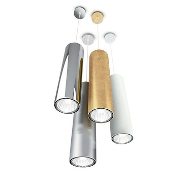Светильник подвесной Panzeri L3744 ONE suspension cylinder brown met